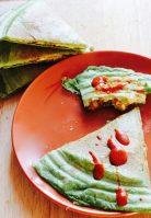 Easy Cheesy Vegan Tofu Quesadillas