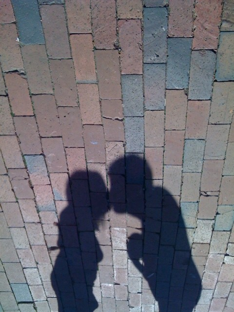 Shadows Kissing