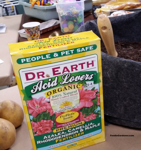 dr earth acid lovres organic fertilizer for potatoes foodie gardener