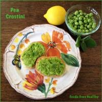 Pea Crostini: The Perfect Spring Appetizer