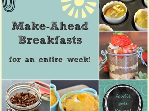 make-ahead lchf breakfasts