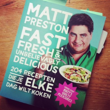 Matt Preston fast fresh review miss foodie