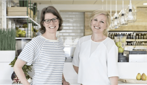 Patricia Daly, left, and Domini Kemp, authors of The Ketogenic Kitchen