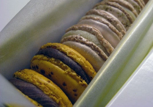 Macaron assortment by Pierre Hermé