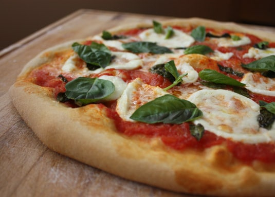 Authentic Neapolitan Pizza Margherita