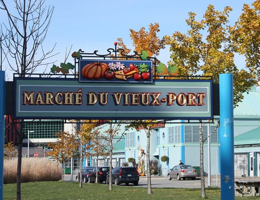 Le March du Vieux-Port, Quebec City's downtown Farmers' Market