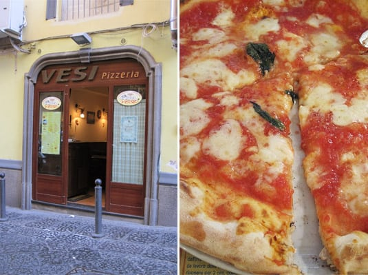 The Neapolitan pizzeria where we had an authentic Pizza Margherita last week.