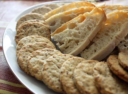 Savory Walnut, Almond and Pecan Crackers | Food Nouveau