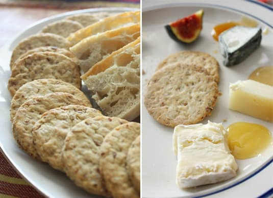 Savory Walnut, Almond and Pecan Crackers