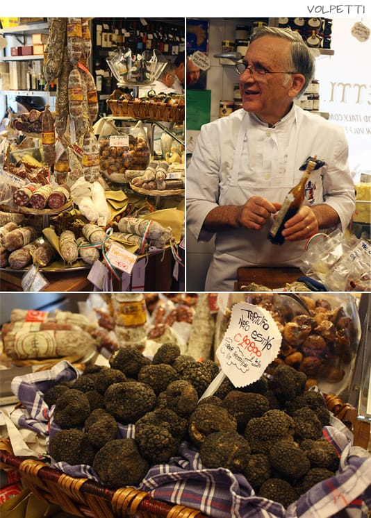 Volpetti: Gourmet souvenirs, olive oils, cured meats, salumi, cheeses, wine, sweets