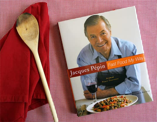 Win a signed copy of Jacques Ppin's Fast Food My Way