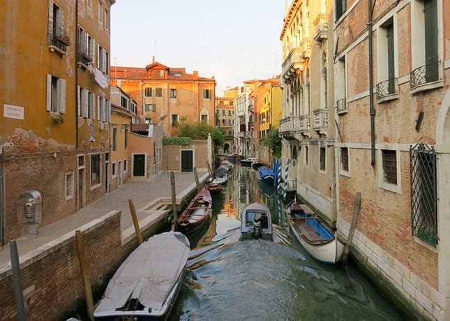 One reason to go to Venice: To marvel at each and every canal you encounter and every bridge you cross. / FoodNouveau.com