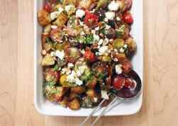 Spanish-Inspired Tomato Salad with Chorizo and Feta