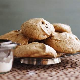 Gingerbread Meringues, by Lara Ferroni // FoodNouveau.com