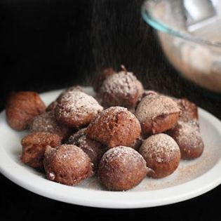 Cocoa Fritters, by Cheryl Sternman Rule // FoodNouveau.com