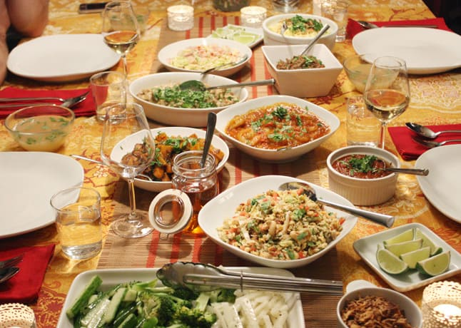 A Burmese feast // FoodNouveau.com