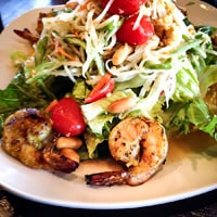 Green Papaya Salad, Neely Wang's favorite dish in Marin County, California // FoodNouveau.com