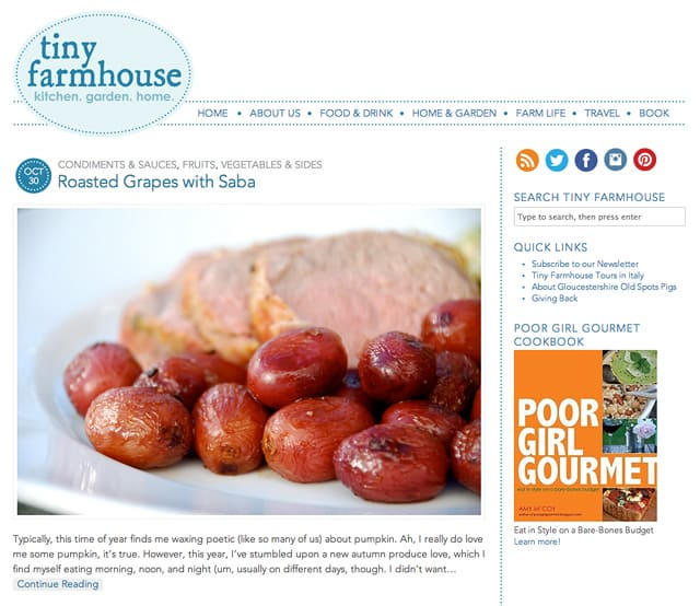 The All-New TinyFarmhouse.com // FoodNouveau.com