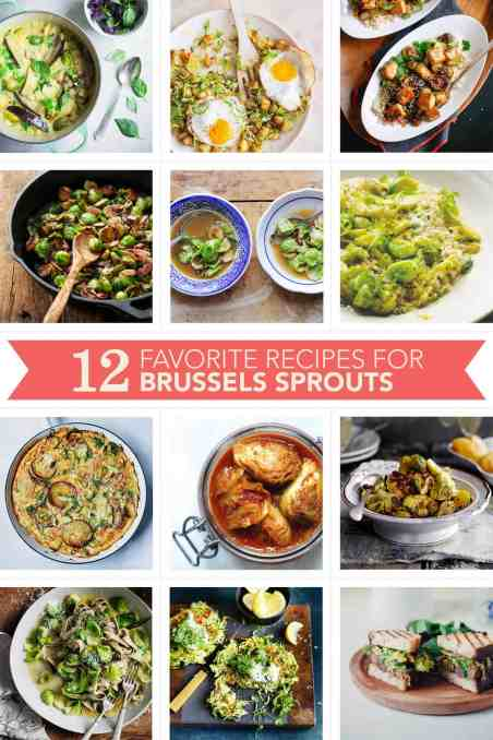 12 Favorites: Brussels Sprout Recipes