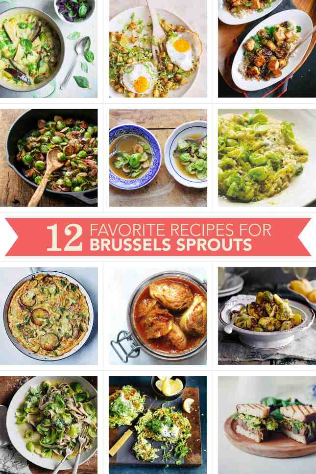 12 Favorites: Brussels Sprouts Recipes // FoodNouveau.com