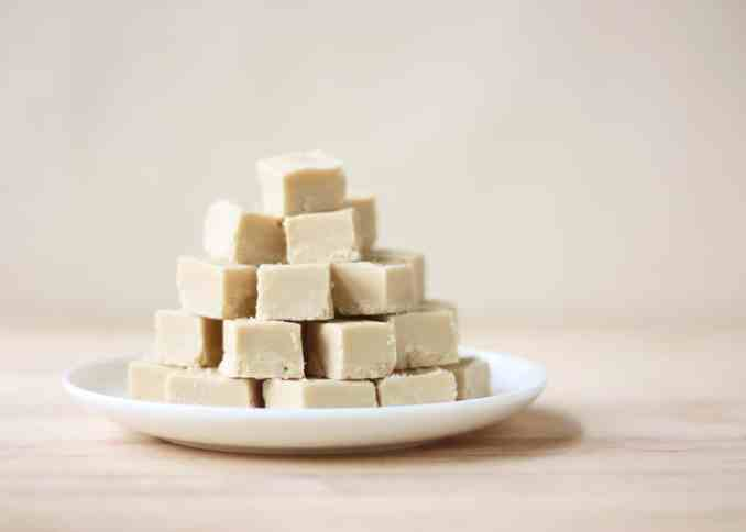 Maple Syrup Fudge (with lactose-free option)