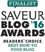 Food Nouveau is a finalist for Best How-To Food Blog at the 2016 Saveur Blog Awards // FoodNouveau.com