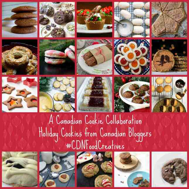 A very special Canadian Cookie Collaboration between the Canadian Food Creatives and the Canadian Christmas Cookie Exchange. #CDNFoodCreatives // FoodNouveau.com