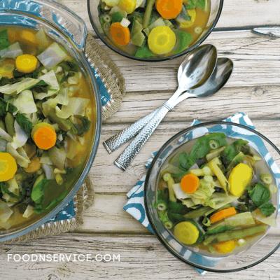 Detox Vegetable Cleanse Soup