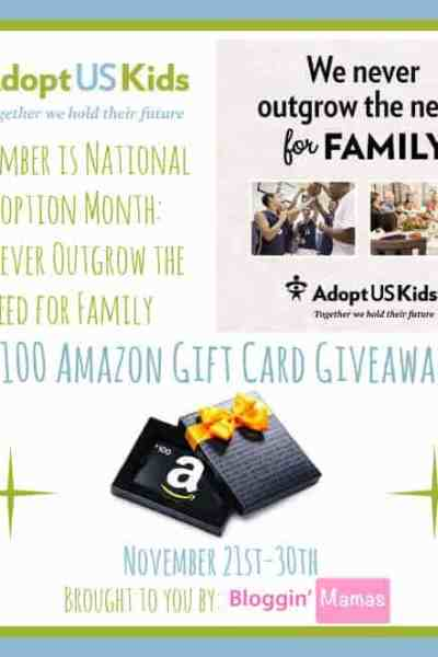 National Adoption Month Giveaway!