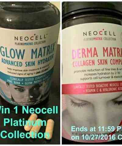 Neocell Platinum Collection Giveaway!