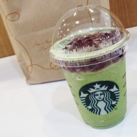 Starbucks in Asia: Red Bean Green Tea Frappuccino