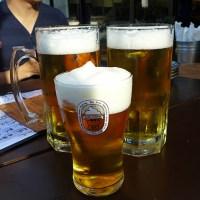 Guu Garden: Frozen Beer in Vancouver