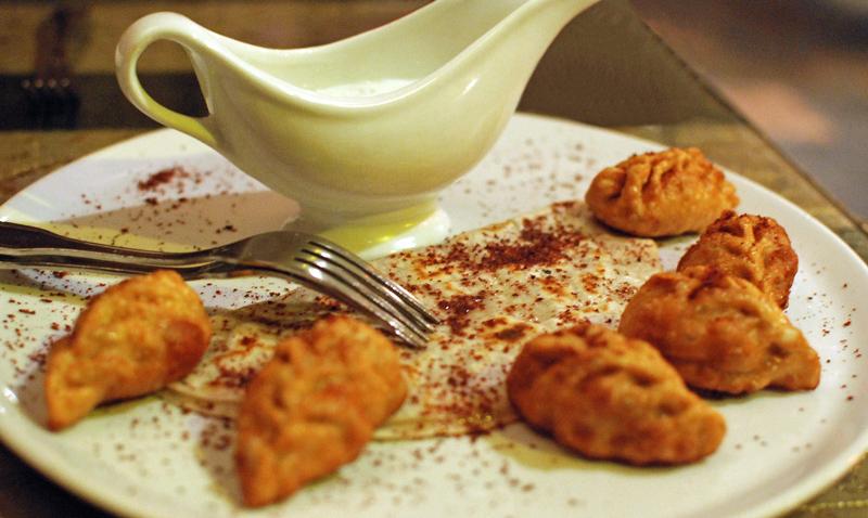 Azeri Cuisine - Chinar on the Island - Kutab & Gyurza