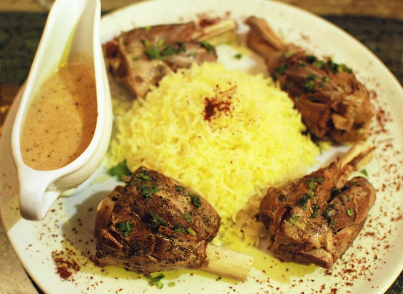 Azeri Cuisine - Chinar on the Island - Soyutma