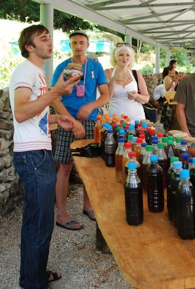 Road to Lake Ritsa - Wine