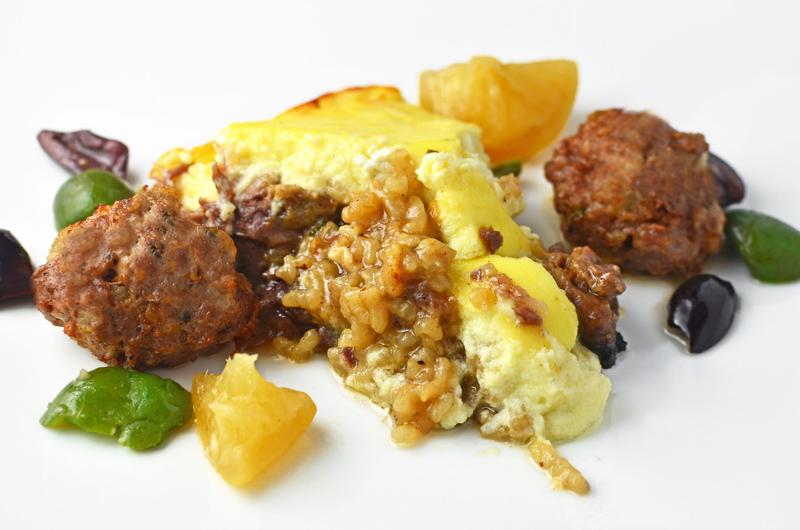 Tav kosi and qofte t f rguara albania s national dishes for Albanian cuisine