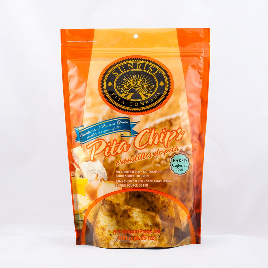 Pita Chips Orange Package Design