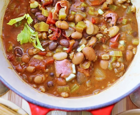 four beans chili