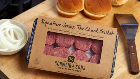 Schweid & Sons' chuck brisket is designed to be the patty packed with flavor.