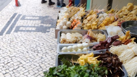 Macau's Michelin Guide includes street food because it's just that good. (Photo: Shannon Troy.)