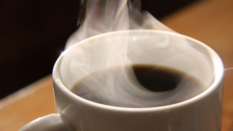 This is the best way to cool your hot coffee. (Photo: waferboard/Flickr.)