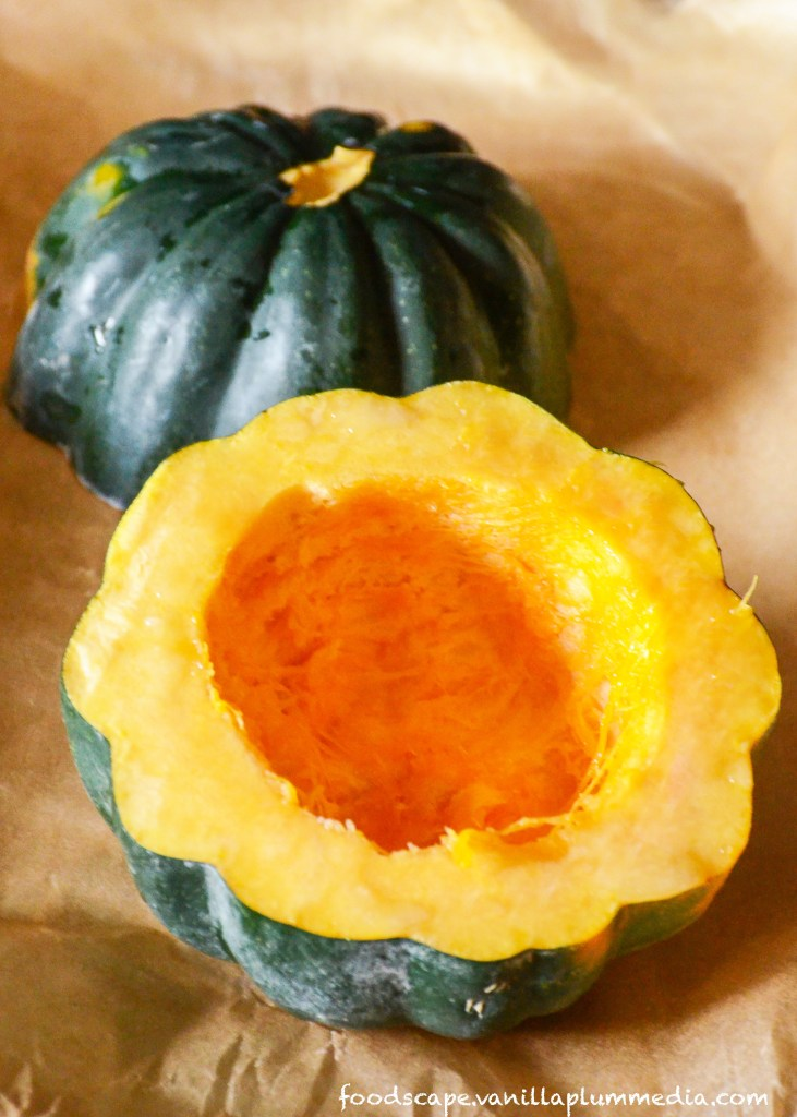 Sweet and Savory Stuffed Acorn Squash