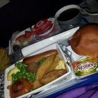Meals that come in boxes@MH, Korean Air, Songdo Conference Incheon, Korea