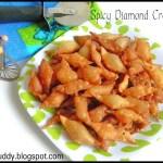 Spicy Diamond Crackers / Diamond Cuts/ Savory Maida Biscuits / Tukda