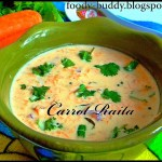 Carrot Raita recipe- How to make carrot raita