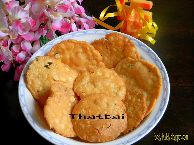 Thattai / Thattai recipe For Diwali