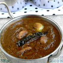 easy chettinadu poondu kuzhambu recipe