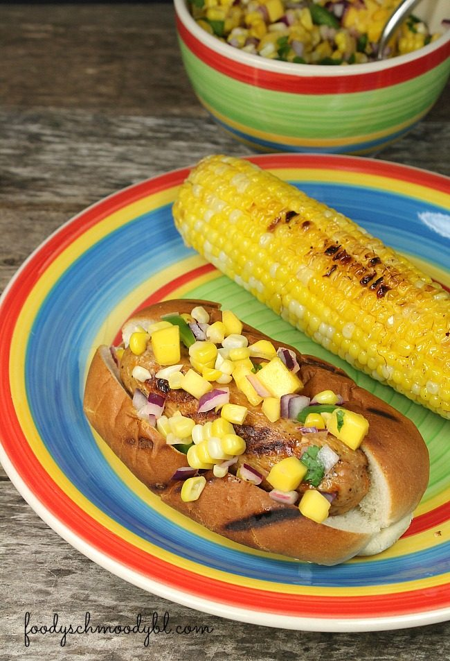 Roasted Corn and Mango Relish – A versatile, fresh and cool relish ...