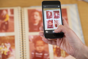 foto's digitaliseren met app Photomyne