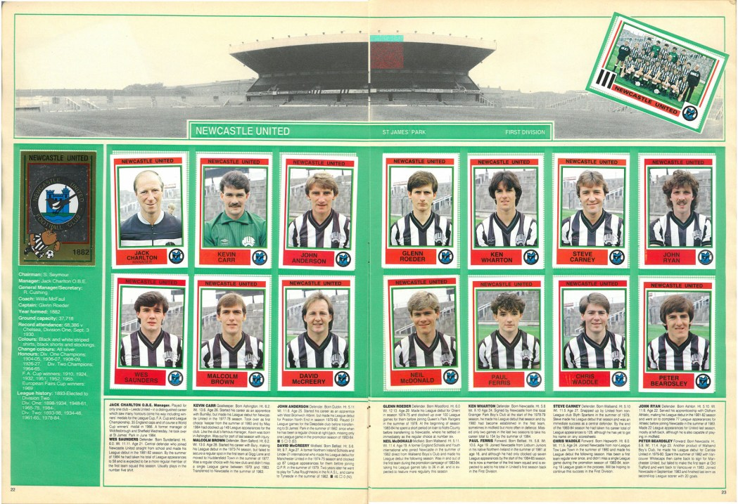 Newcastle United 1985